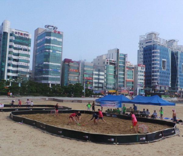 Gwangalli Beach, Busan KOREA POŁUDNIOWA Bandy Azetx Prestige