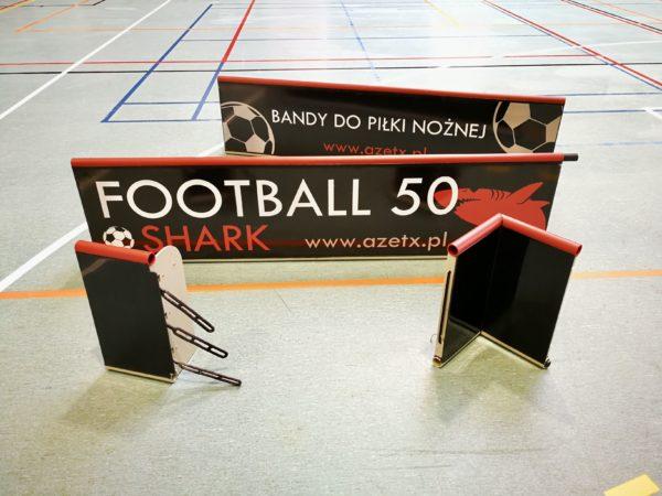 Zestaw elementów Bandy Azetx Football 50 SHARK